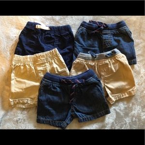 Lot of 9 Month Boys Shorts